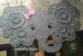 Elephant Rug Crochet Pattern Adorable Crochet Elephant Rug Free Pattern Dancox For