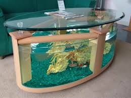 Perfect Fish Tanks Pics for Your House with oval table