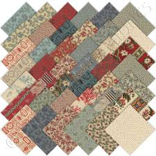 i just got this collection and I can't wait to use it...French ... & Moda French General Bon Voyage Charm Packs 42 Precut Cotton Quilt Squares  Kit in Crafts, Fabric Adamdwight.com