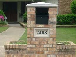 stone mailbox designs. Mailbox Brick Design Mailboxes Designs Stone