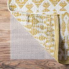 area rug pad 5x7 cievi home in addition to 1