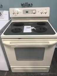 kenmore stove top. kenmore glass top electric range bisque $199 #10389 kenmore stove top s
