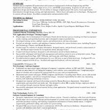 Java Web Developer Resume Sample 60 Java Developer Resume Sample Best of Resume Example 31