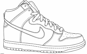 Browse and print these coloring pages to help kids practice skills like number recognition, using a legend and more. 49 Splendi Jordan Shoes Coloring Pages Axialentertainment