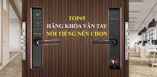 Khóa vân tay Đà Nẵng chính hãng - Lắp đặt khóa cửa điện tử Đà Nẵng