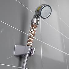 shower head images. Shower Head Filter (with Vitamin C), PH REJUVENATE Images L