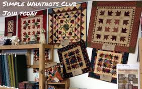 WashTub Quilts | Klemme, IA | 100% Cotton Quilt Fabric and supplies & Simple Whatnots Club at WashTub Quilts Adamdwight.com