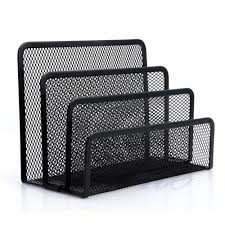 mesh letter sorter mail doent tray desk office file organiser business black in storage bo bins from home garden on aliexpress com alibaba group