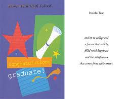 High School Graduation Card 6 Pack