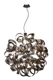 Pendelleuchte G9 Metall Modern Silber Deckenlampen