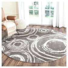 circle area rug for semi rugs circles dark gray round in grey furniture fascinating