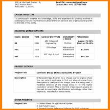 6 Indian Resume Format Hostess Resume