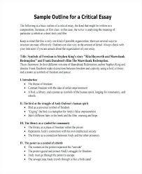 Art Critique Example Essay Short Critical Essay Example Memoir Essay
