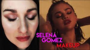 selena gomez marshmellow wolves inspired makeup tutorial