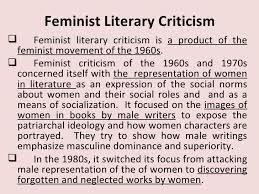 feminist criticism feminist literary criticism