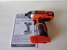 black and decker tools. black \u0026 decker bdci202 20v 20 volt max* lithium-ion 1/4 hex and tools