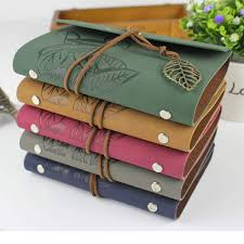 vintage leather journal notebook retro craft paper spiral diary journals book blank pages binder book caderno stationery gift malaysia