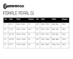 Gameness Female Pearl Gi Century Martial Arts