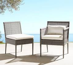 outdoor dining chairs wicker
