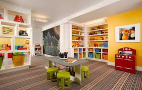 basement ideas for kids. View In Gallery A Lovely Carpet Adds Class To The Space Basement Ideas For Kids