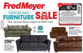 fred meyer truckload furniture