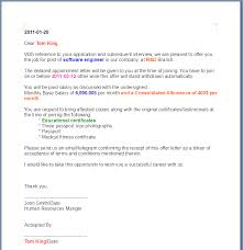 Loi Letter Sample Awesome Job Offer Letter Sample Doc Australia