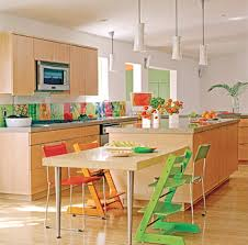 Small Picture Colorful Kitchen Design Zampco