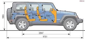 awesome jeep wrangler cargo e dimensions