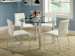 dining tables glass dining table ikea glass table dining circle glass top table with silver