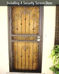 installing a screen door screen door installation security screen door installation on wonderful home remodel ideas installing a screen door