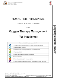 O Oxygen Therapy Mx For Inpatients Cps 2015 V2 Npp3101