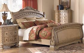 Image Of Ashley Solid Wood Contemporary Bedroom Furniture