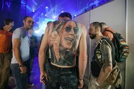 юбилейная тату конвенция в петербурге снова произвела фурор мк