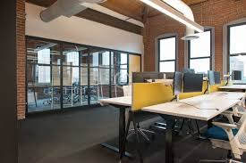 natural light office. Trendy Modern Open Concept Loft Office Space With Big Windows, Natural Light And A Layout To Encourage Collaboration, Creativity Innovation T
