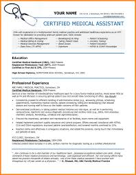 Medical Assistant Resumes Examples Best Medical Assistant Resume Template Unique Objective For Examples