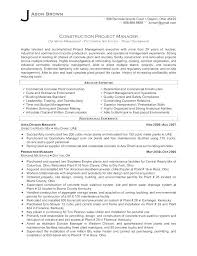 Materials Manager Resume Unique Resume Format Of Construction Manager Fruityidea Resume