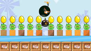 Angry Birds Bomb 2 - EGG PROTECTOR THROW AWAY ALL BAD PIGGIES - YouTube