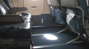 exit seating aboard a delta a320