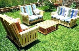 pallet lawn furniture wood outdoor ideas garden table how to make patio cushions