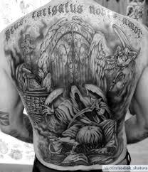 фото татуировка ангел