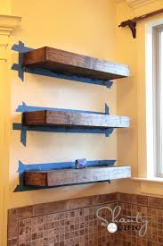 How To Build Floating Shelves In An Alcove Unique Diy Shelf Ideas Secret Shelves Lovely Floating Shelves Alcove
