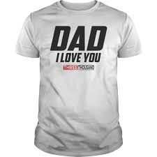 Dad I Love You 3000 Funny Fathers Day Gift Shirt