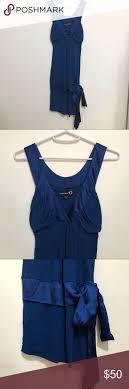BEBE - Royal blue dress