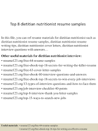 Help Writing Resume Templates Nutritionist Sample O Sevte