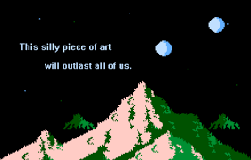 8 bit fiction it s pixel art it s poetry it s