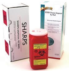 sharp disposal. containers sharp disposal p