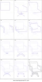 office chair drawing. Interesting Chair How To Draw An Office Chair In Drawing E