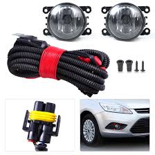 wiring harness sockets connector 2 fog lights lamp for ford h11 wiring harness sockets wire connector 2 fog lights lamp for ford focus acura nissan