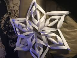 paper snowflakes 3d how to make a 3d paper snowflake 12 steps with pictures in how to