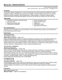 Download Mover Resume Sample | Diplomatic-Regatta